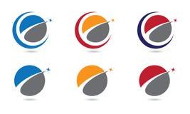 Finans Logo Template Royaltyfri Fotografi