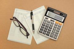 Finans- och affärsjämvikt Arkivbilder