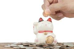 Finans och besparingar Royaltyfria Bilder