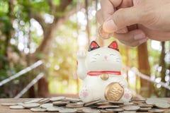 Finans och besparingar Royaltyfri Bild