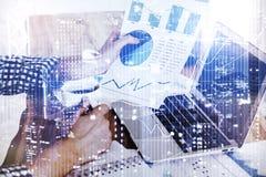 Finans- och innovationbegrepp Royaltyfri Foto