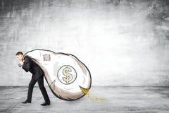 Finans och rikt begrepp stock illustrationer