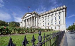 Finansdepartementetbyggnad royaltyfri bild