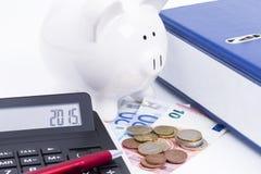 Finanser 2015 Fotografering för Bildbyråer