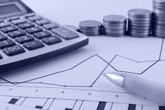 finanser Arkivbilder
