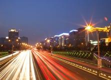 Finansgatan, Peking Arkivfoton
