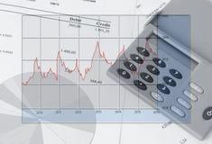 finanshighqualityen för diagram 3d framför Royaltyfria Bilder