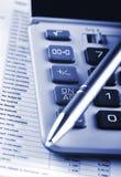 Finansiärhjälpmedel Arkivfoto