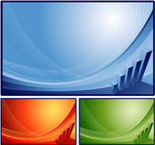 finansiell bakgrund vektor illustrationer