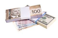 finansiell bakgrund Royaltyfri Foto