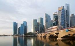 finansiell broområdesesplanade Fotografering för Bildbyråer