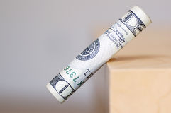 finansiell downfall Arkivbilder