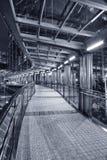 finansiell fot för broområde Royaltyfri Foto
