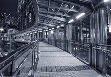 finansiell fot för broområde Arkivbilder