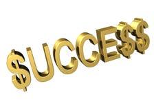finansiell framgång stock illustrationer