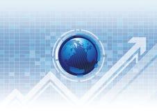 Finansiell framgång för teknologi Arkivfoton