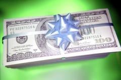finansiell gåva Arkivfoton