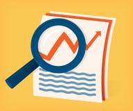 Finansiell granskning Arkivfoton