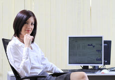 finansiell konsulent Arkivfoto