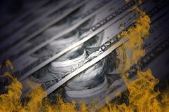 finansiell kris Arkivbilder