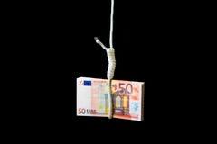 finansiell kris Royaltyfria Foton