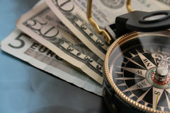 finansiell kris arkivfoto
