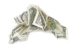 finansiell kris Royaltyfria Bilder