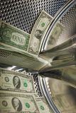finansiell kris Arkivbild