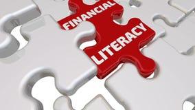 Finansiell läs-och skrivkunnighet Inskriften på den saknade beståndsdelen av pusslet