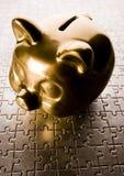 finansiell lösning Arkivbild