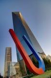 Finansiell mitt för Shanghai värld Arkivfoto