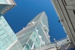 Finansiell mitt för Taipei värld, Taipei 101 Arkivfoto
