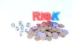 Finansiell risk arkivbilder