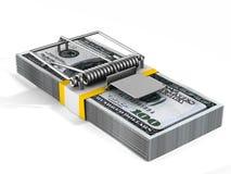 finansiell risk 3d stock illustrationer