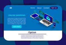 finansiell serie för affärskort Online-packa ihop och Shoping, mobila betalningar, isometriskt begrepp för överföringspengar Onli vektor illustrationer