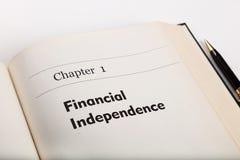 Finansiell självständighet royaltyfria foton