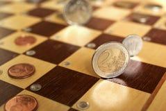 finansiell strategi royaltyfri bild