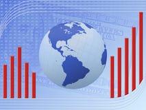 finansiell tillväxt Arkivbilder