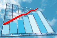 finansiell tillväxt vektor illustrationer