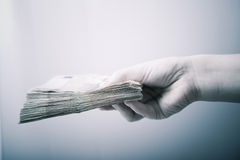 finansiell transaktion Arkivfoton