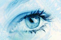 finansiell vision Fotografering för Bildbyråer