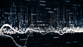 Finansiella diagram och diagram som visar ökande vinster Arkivfoton