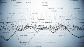Finansiella diagram och diagram som visar ökande vinster Royaltyfria Foton