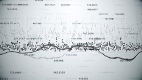 Finansiella diagram och diagram som visar ökande vinster Arkivbild