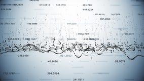 Finansiella diagram och diagram som visar ökande vinster Fotografering för Bildbyråer
