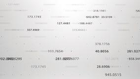Finansiella diagram och diagram som visar ökande vinster Royaltyfri Fotografi
