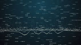Finansiella diagram och diagram som visar ökande vinster Arkivbilder