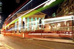 Finansiella fjärdedelar av staden av London royaltyfria foton