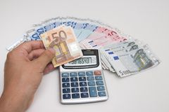finansiella investeringar Arkivbild