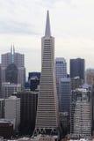 Finansiella områdesbyggnader i San Francisco Royaltyfri Foto